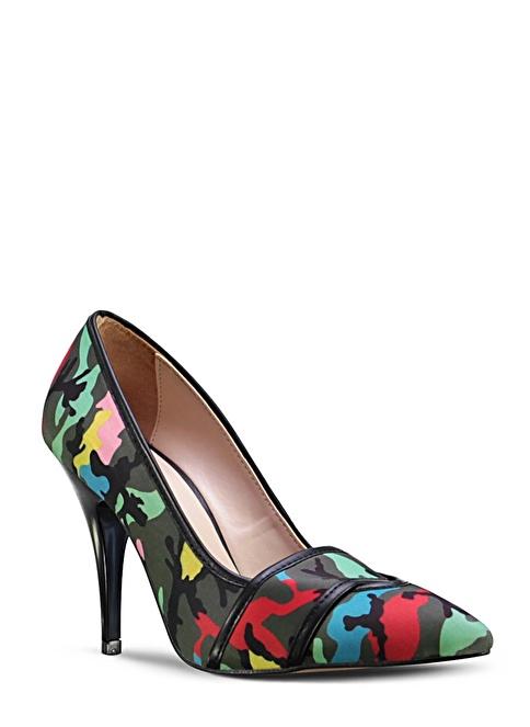 Marjin  Topuklu Ayakkabı Haki